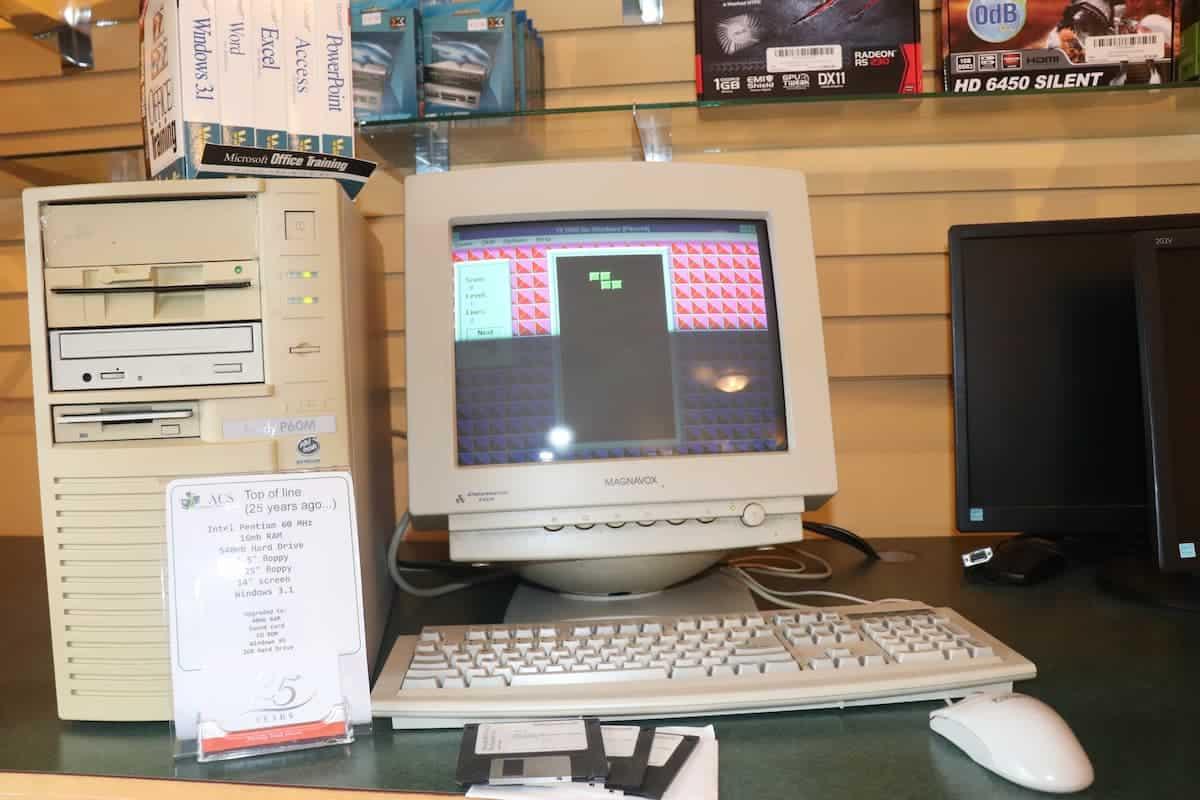 Vintage Tetris