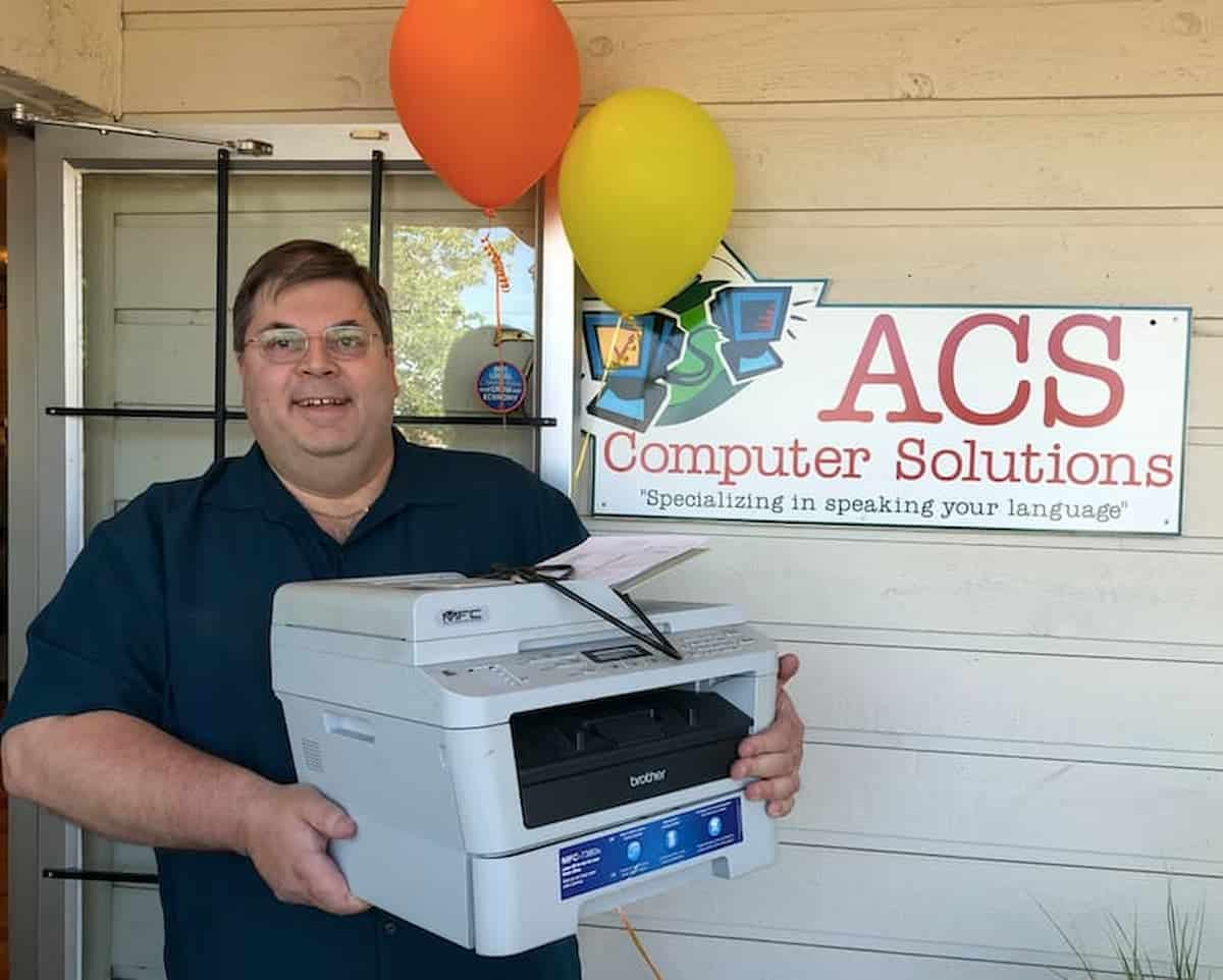Lush valley Food Action Society printer